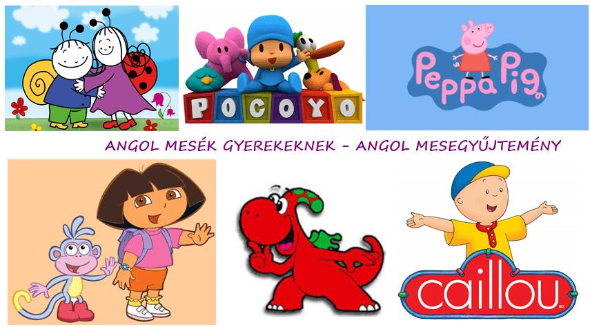 Angol mesék gyerekeknek – Angol mesegyűjtemény 1. rész