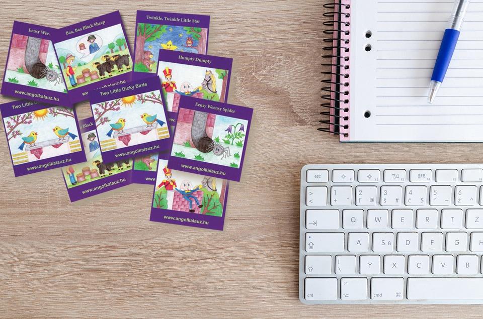 Nursery Rhymes memóriakártya