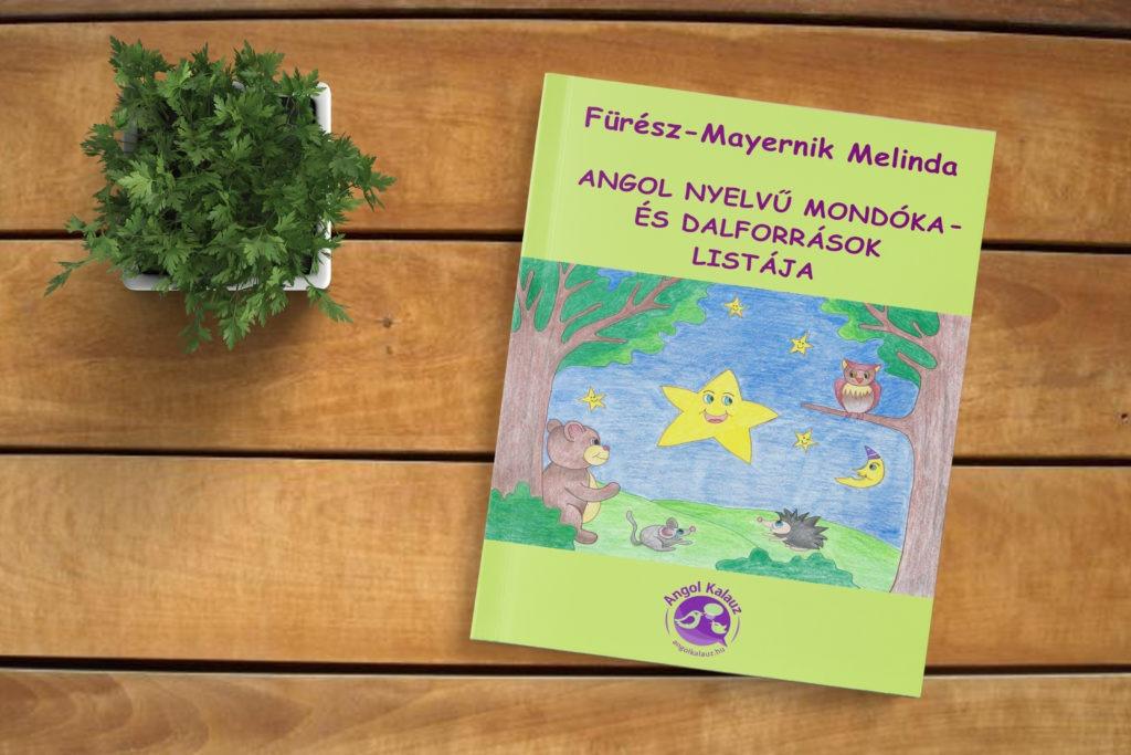 Angol nyelvű mondóka és dalforrások listája (e-book)