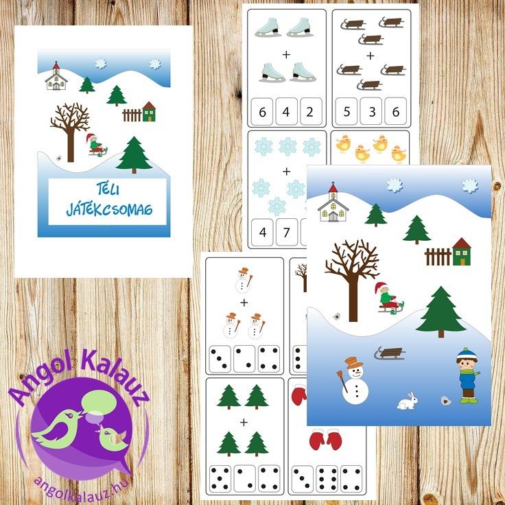 Téli-karácsonyi játékcsomag