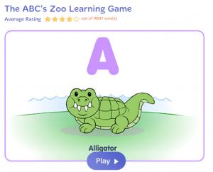 Angol ábécé online játékok