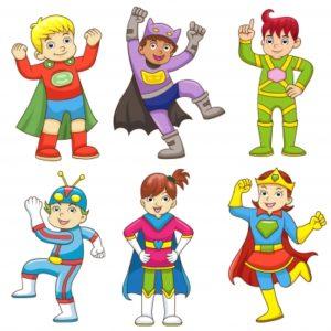 I am a superhero  – Dalok a szuperhősöknek