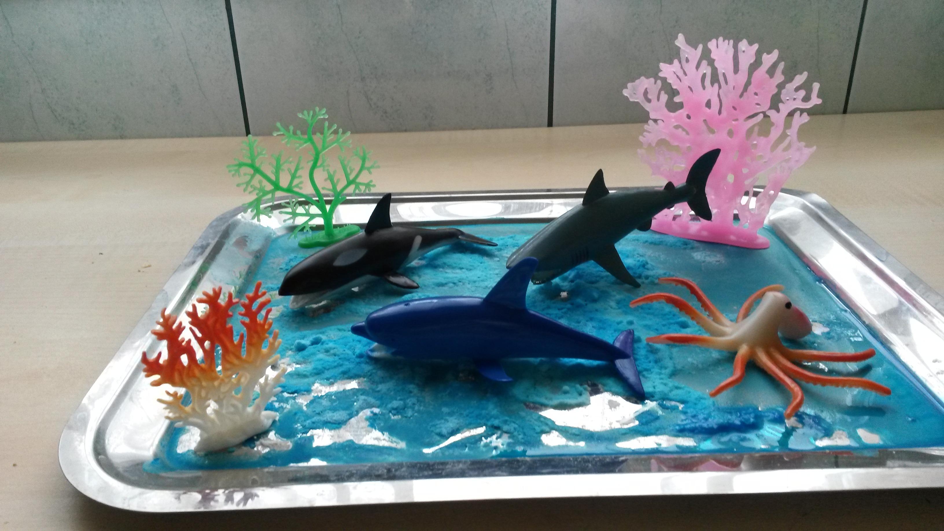 Óceánok élővilága játékötletek