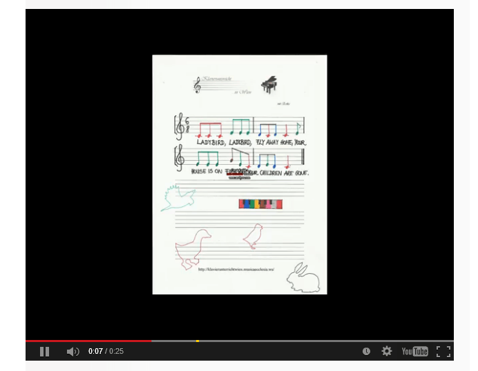 Angol gyerekdalok zongorán