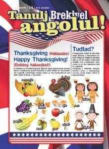 Hálaadás – Tanulj Brekivel angolul