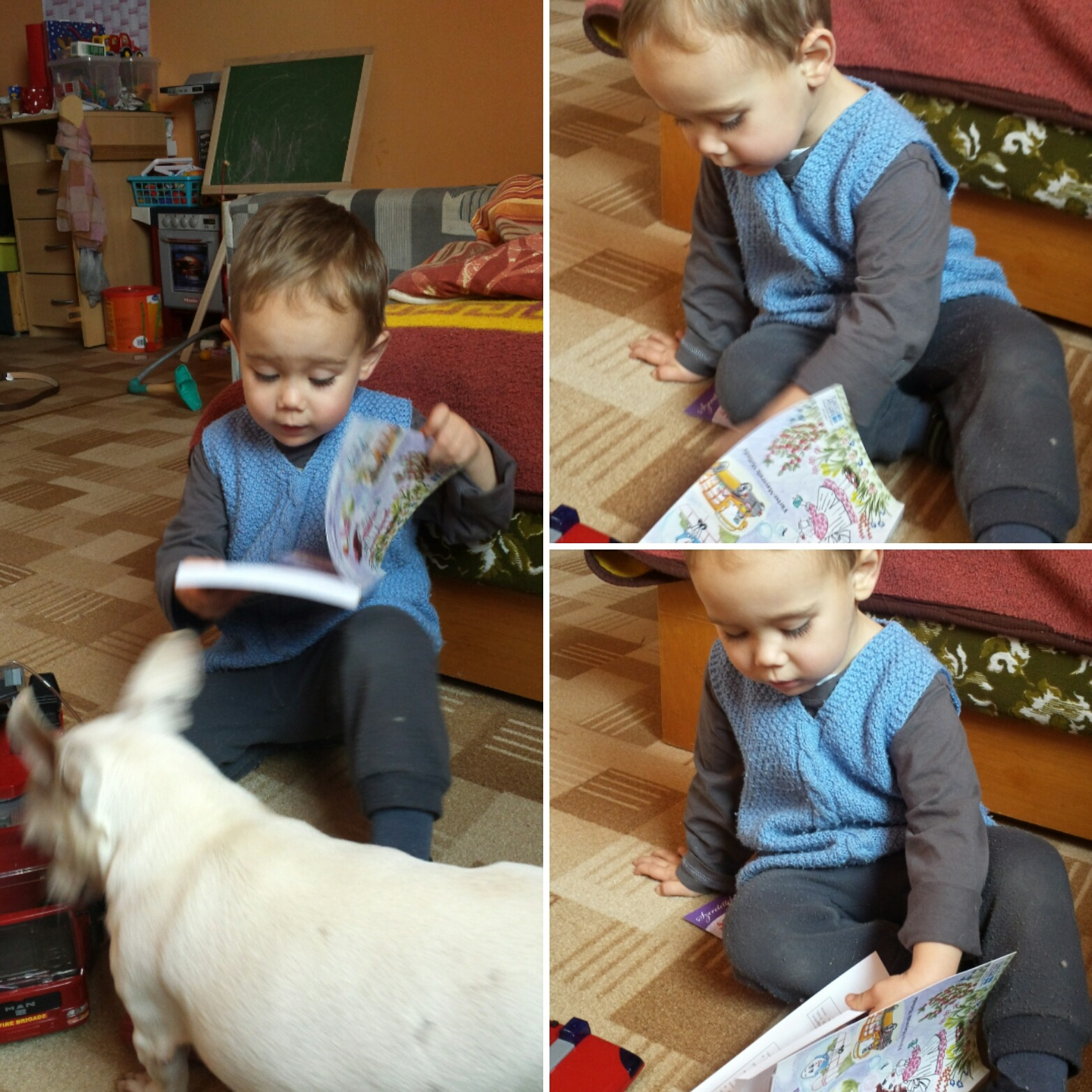 Így angolozunk mi – Zsófi és kisfia, Bálint