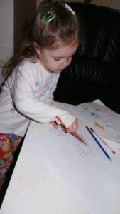 Vántora Virág Julcsi 3 éves