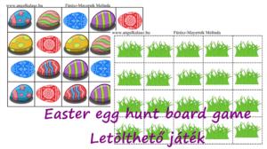 Húsvéti letölthető játék (nem csak) angolozáshoz