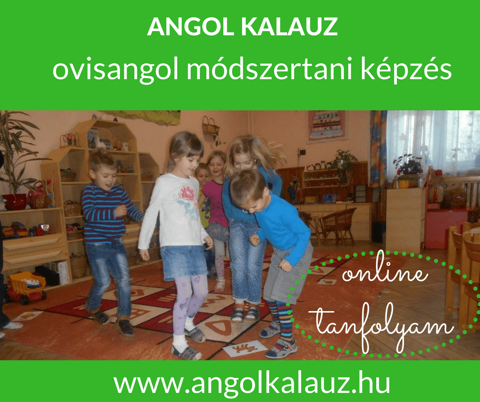 Ovisangol módszertani képzés – online forma