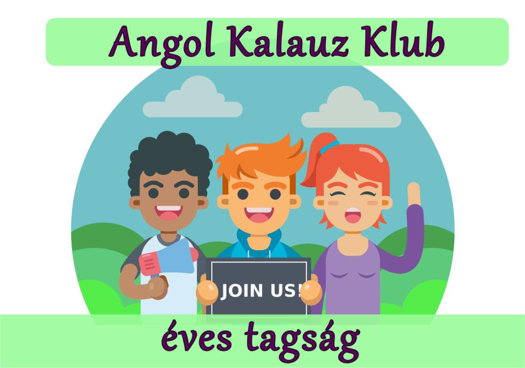 Angol Kalauz éves Klubtagság